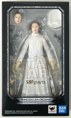 Bandai S.H.Figuarts Princess Leia Organa Figure (Star Wars: A New Hope)