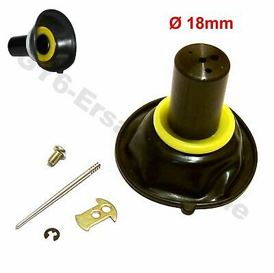 18mm VERGASER MEMBRAN 4-TAKT z.B. CHINA ROLLER SCOOTER MOPED ATV BUGGY 139QMB