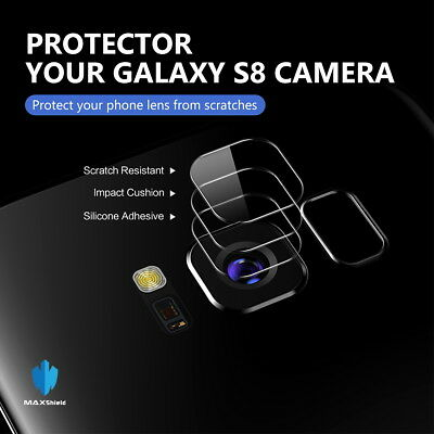 For Samsung Galaxy S9 Plus Note 9 Camera Lens & Flash Tempered Glass Protector