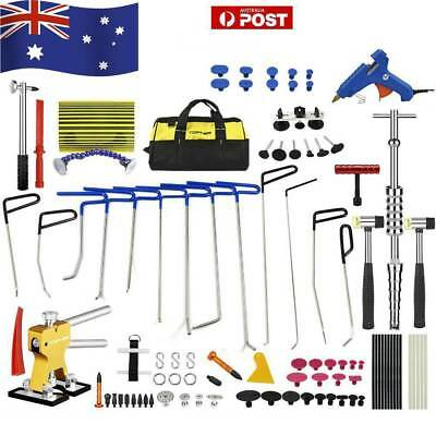 PDR Paintless Dent Removal Line Board Dent Lifter Puller Rods Hail Repair Kit AU