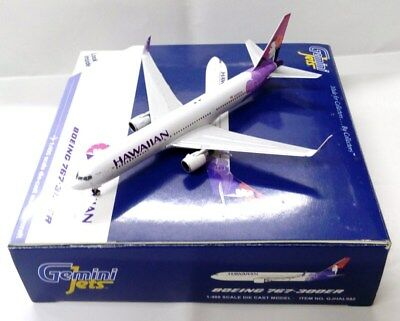 Gemini Jets 1:400 GJHAL992 HAWAIIAN AIRLINES BOEING 767-300ER H582HA - Model