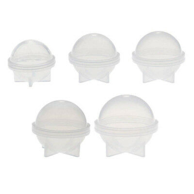 5 Sizes DIY Sphere Ball Silicone Mold Mould for Resin Craft Ball Jewelry Making