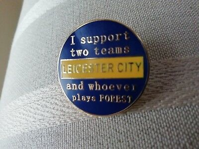 Leicester City Enamelled Pin Badge
