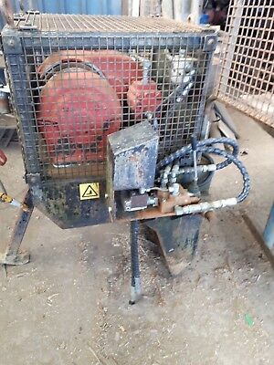 7 Tonne hydraulic winch