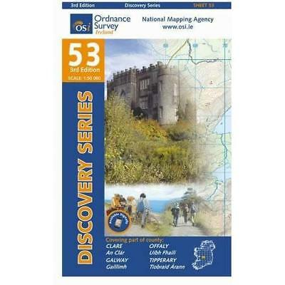 Clare, Galway, Offaly, Tipperary (Irish Discovery Serie - Paperback NEW Ordnance