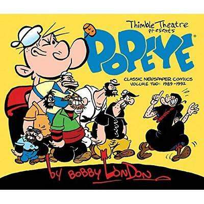 Popeye: The Classic Newspaper Comics by Bobby London Vo - Hardcover NEW Bobby Lo