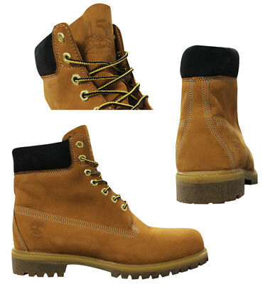 39f2f2a9f64e Timberland Heritage 6 Inch Premium Waterproof Nubuck Wheat Mens Boots A1VXW  WH