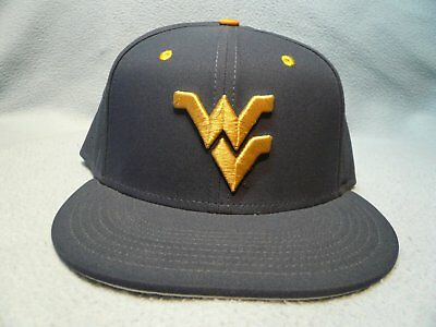 61a1a001a77 Nike West Virginia Mountaineers True Vapor Sz 7 3 8 Fitted BRAND NEW hat cap