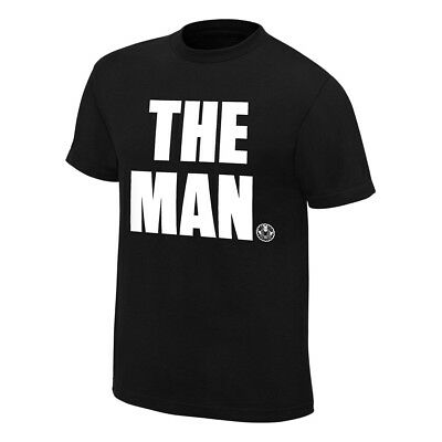 """Official WWE - Becky Lynch """"The Man"""" Authentic T-Shirt"""