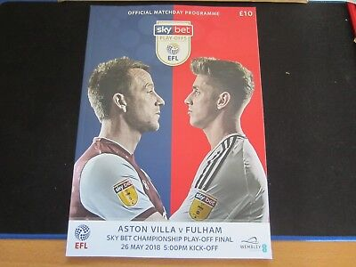 2017-18 CHAMPIONSHIP PLAY-OFF FINAL ASTON VILLA v FULHAM