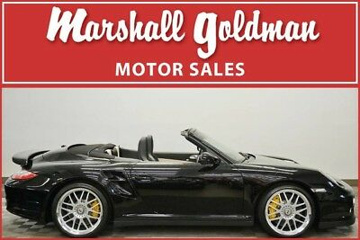 2011 Porsche 911  2011 Porsche 911 Turbo S cab Black with Black and Cream only 4,500 miles