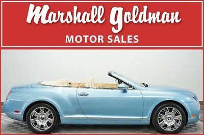 2008 Bentley Continental GT  2008 Bentley Continental GTC Silver Lake over Magnolia leather 18,300 miles