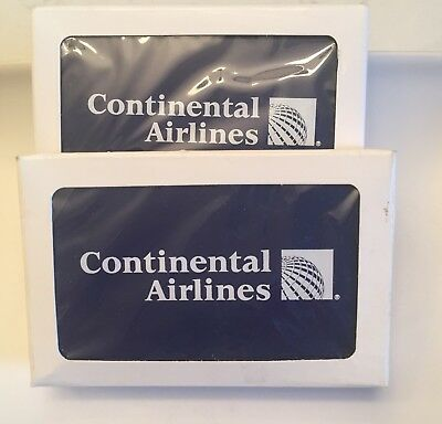 Continental Airlines Playing Cards (2 New Decks)