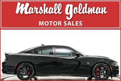 2017 Dodge Charger  2017 Dodge Charger Hellcat Pitch Black Clearcoat  Black Laguna  2,080 miles