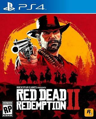 NIBS Red Dead Redemption 2 - Play Station 4 PS 4 by Rockstar Games