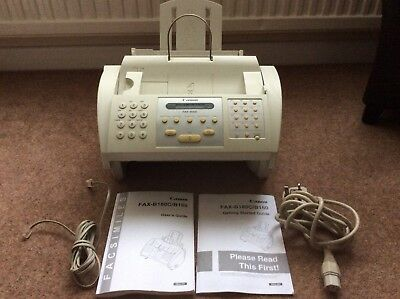 CANON Fax Machine - B160 with Instruction Manual - COLLECTION ONLY - PE11