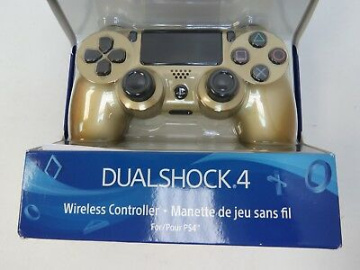 Sony PlayStation 4 Dualshock 4 Wireless Gaming Controller - Gold (A7)