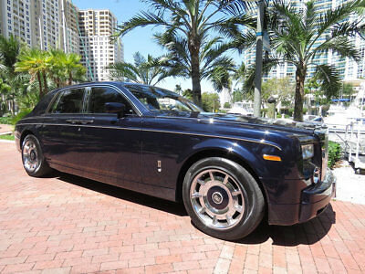 2004 Rolls-Royce Phantom Very Rare Blue Velvet Phantom VII Gorgeous Celebrity Car Rare Blue Velvet Rolls Royce Phantom VII Amazing Value