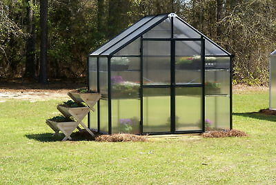 Riverstone Industries Monticello 8 Ft. W x 4 Ft. D Greenhouse