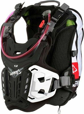 Leatt GPX 4.5 Hydra Chest Protector (White/Red/Black)