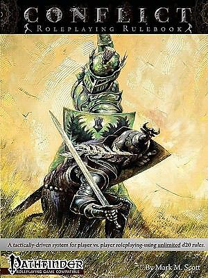 """""""Conflict Roleplaying Rulebook"""" Pathfinder Dungeons & Dragons D&D OGL RPG PvP"""