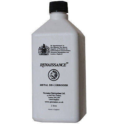 Pro-Renaissance Metal De Corroder Liquid For Cleaning Bronze Copper Brass Etc