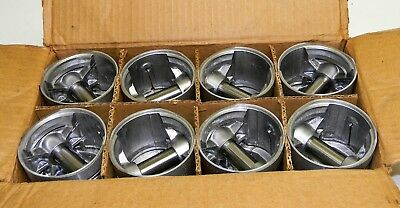 Nos 1932 1933 1934 1935 1936 Ford Pistons .030 85 hp, 3 Ring Flathead, Set Of 8