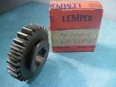 1937 Ford Transmission Engrenage Bas & Inverse Coulissant 74 7100 A WT 227 12 27