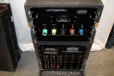 Showco Power Distribution System 120/208Y 3Ph 110 Amp W/rd Case #3659 (One)