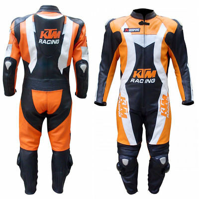Ktm Racing motorbike leather suit bike leather suit can be customize any size