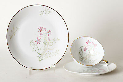Hutschenreuther Selb Favorit Coffee Porcelain, Collection Cup Delicate Flowers (