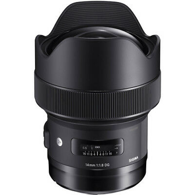 Sigma 14mm F/1.8 DG HSM ART Lens (Nikon) Full Frame - 4 Year USA Warranty