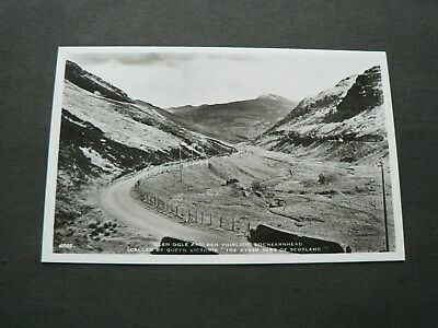 Old Photo Postcard: Lochearnhead, Glen Ogle + Ben Voirlich, Scotland, 1961