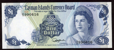 Cayman Islands 1 Dollar N.d. (1974)  Note!! Unc