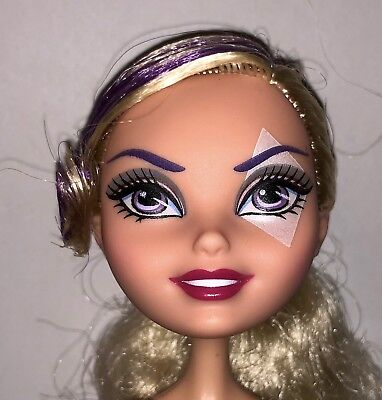 Ever After High Way Too Wonderland Courtly Jester Nude Joker Doll NEW for OOAK