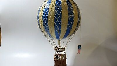 Authentic Models Travels Light Hot Air Balloon color: blue
