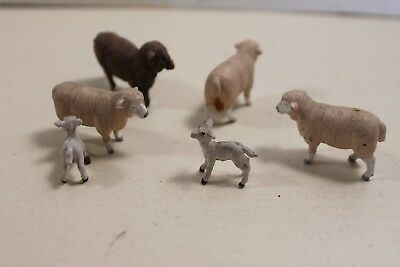 Farm Toy Sheep Lamb Vintage Figurines Collectables