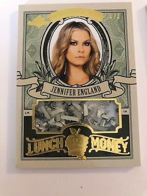 2018 Benchwarmer Card Hot For Teacher Series 4 Lunch Money Jennifer England 3'3