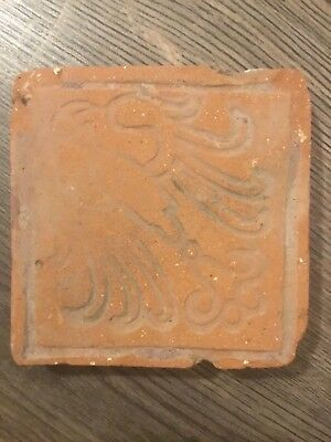 Medieval floor tile 12th/13th Century Germany