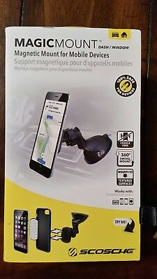 SCOSCHE MagicMount Dash Window Magnetic Mount Mobile MAGWSM2
