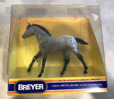 Vintage Breyer Classics #238 1984-88 Appaloosa Stock Horse Foal Action American