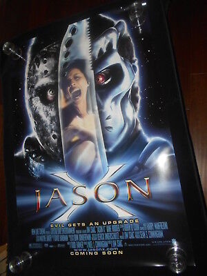 Jason X Friday The 13th Part 10 Horror Original Rolled One Sheet Poster