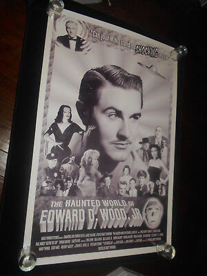 Haunted World Of Ed Wood Documentary  Original Rolled One Sheet Poster