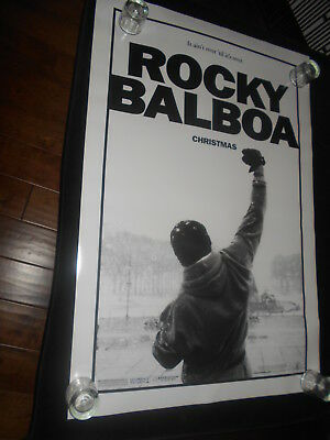 Rocky Balboa Sylvester Stallone  Original Rolled One Sheet Poster Advance DS