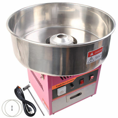 Commercial Maker Party 6933New Electric Cotton Candy Machine Pink Floss Carnival