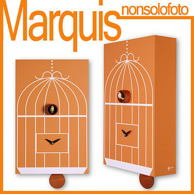 "watch cuckoo 202 "" Cage"" brick design Pirondini Time Marquis"