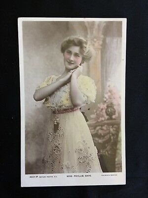 Vintage Postcard - Photographic - Miss Phyllis Dare - Rotary - Early 1900s