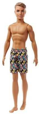 Mattel - Barbie - Ken Doll, Checkered Shorts [New Toy] Paper Doll, Toy