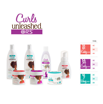 ORS Curls Unleashed /Shampoo/Conditioner/Detangling Refresher/Lotion-Full Range