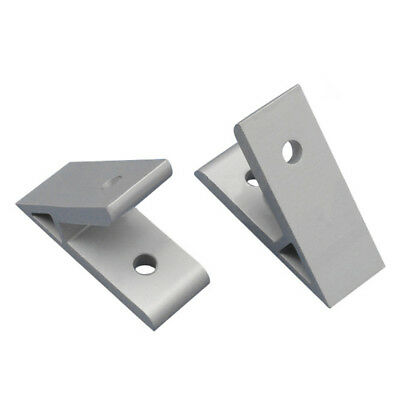45 Degree Aluminium Angle Corner Joint Connector Bracket For 2020 Profile 60mm